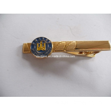 Factory Supply Copper Fashion Man Tie Cilps with Your Logo (A21)