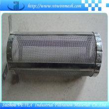 Cartucho de filtro usado na indústria