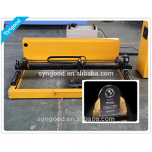 Máquina de grabado y corte de láser Syngood SG6090-especial para accesorios de lápida