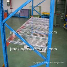 Estante de fio de aço inoxidável de armazenamento certificado CE
