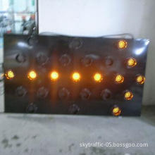 Solar LED Arrow Board Trailer 25 Lights, 105mm Diameter and 10 Modes