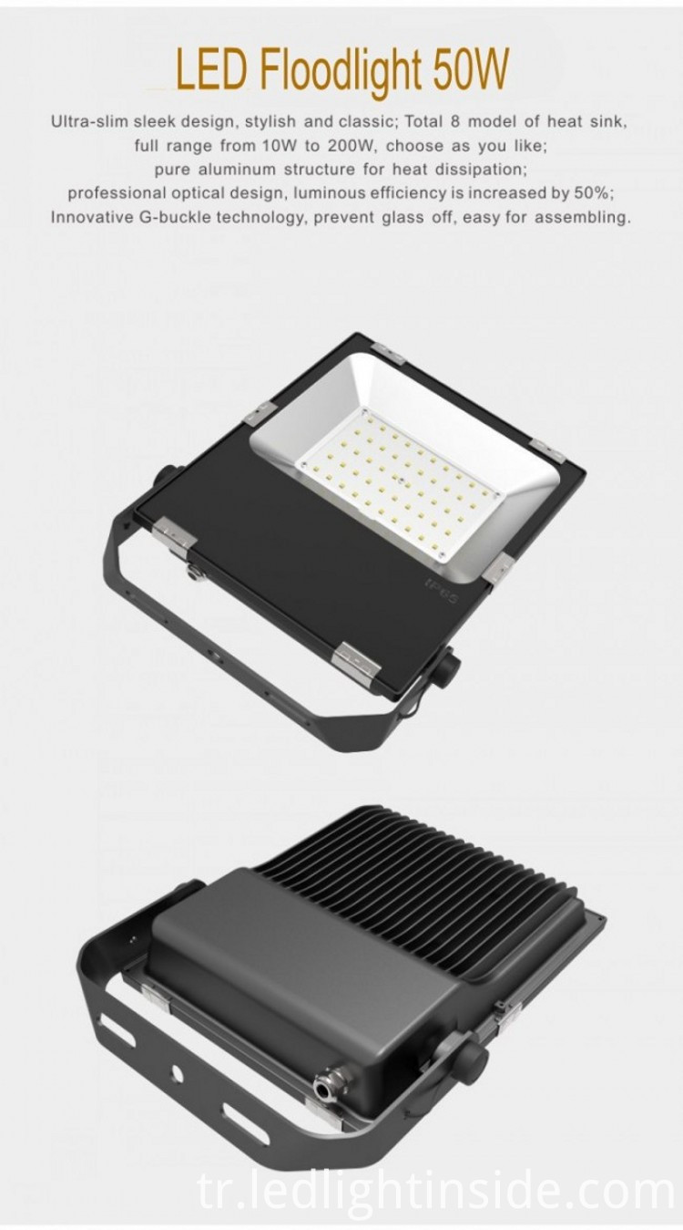 New Released 50W LED Flood Light IP65