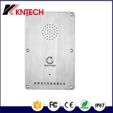 Auto-discagem Telefone Intercom Emergência Usado Knzd-09