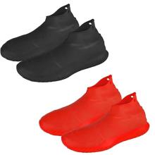 Couvre-chaussures imperméables en silicone réutilisables