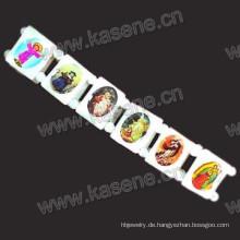 Shell Armband, Shell Perlen Armband 0n Elastik mit Saint Bilder