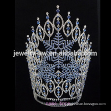 Wholesale 2015 hot sale Large Halloween pumpkin ghost spider pageant custom rhinestone tiara crown