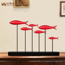 China-Lieferanten Großhandel kundenspezifische Fisch Innenhaus Dekoration