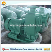 diesel engine self priming sewage pump