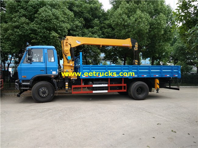 Dongfeng Truck Mounted Hydraulic Cranes