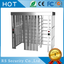 2 Lanes Revolving Waterproof  Full Height Turnstile