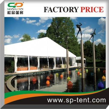 20m width 500 Seats Engineered Structure Tent with Tables and Chairs
