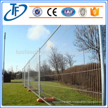 Factory direct sale high quality pvc coated temporary fence,color optional