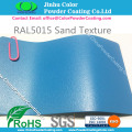 RAL5015 Bule Pasir Tekstur Powder Cat