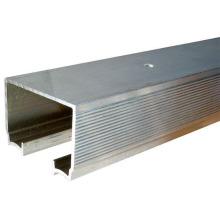 Riel de aluminio deslizante para sistema de puerta de bolsillo
