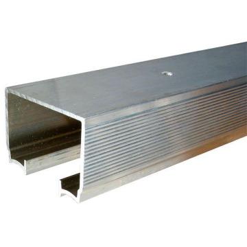 Rail en aluminium coulissant pour système de porte escamotable