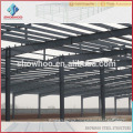 light prefabricated steel frame industrial factory building from Qingdao showhoo