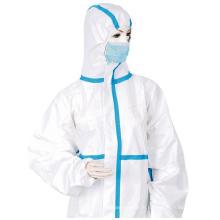 Certificat CE BSI Anti vêtements de protection jetables