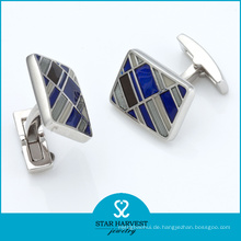 Mode Sterling Silber Manschettenknöpfe (SH-BC0013)