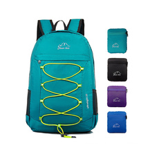 High Quality Ripstop Waterproof folding bag outdoor sports bag folded backpack for men and women