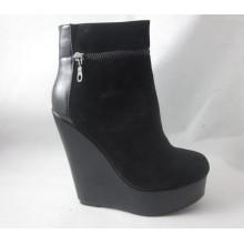 Moda de tacón alto Lady Boots (HCY03-154)