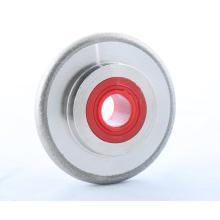 Roda de moedura de cinzeladura convexa de pedra preciosa lapidária do diamante