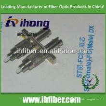ST femelle FC mâle adaptateur fibre duplex