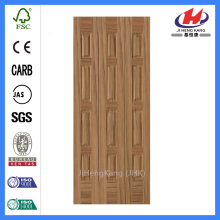 JHK-013 Teak Veneer Door Skin Depth Bastard Grain Door Panel