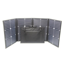 Portable monocrystalline80w folding solar panel from china supplier