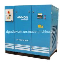 Compresseur d'air à vis sans huile sèche non lubrifiée (KD55-10ET)
