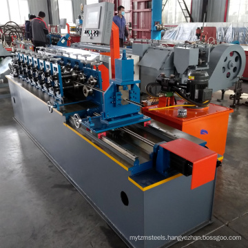China manufacturer xinnuo hot sale light steel keel t bar t-grid ceiling t grid roll forming machine