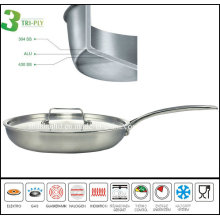 3 Ply Stainless Steel Pancake Fry Pan Most Popular