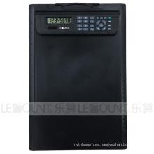 8 dígitos de la energía dual de múltiples funciones del portapapeles calculadora con regla (LC633B)