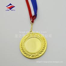Médailles de céréales personnalisées Médailles en blanc Médailles d'or en cuivre d'or