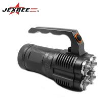 JEXREE Factory Sales 4 x Cree XM-L2 LED 3-Mode 3500 Lumens Alliage d'aluminium Portable LED Camping Lantern Multi-fonction Lampe de poche