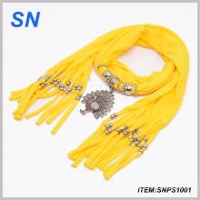 Moda pañuelo joyas bufandas (SNPS1001)