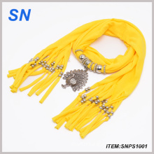 Fashion Peacock Jewelry Scarves (SNPS1001)