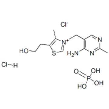 Thiazolium,3-[(4-amino-2-methyl-5-pyrimidinyl)methyl]-4-methyl-5-[2-(phosphonooxy)ethyl]-,chloride, hydrochloride CAS 16028-14-1