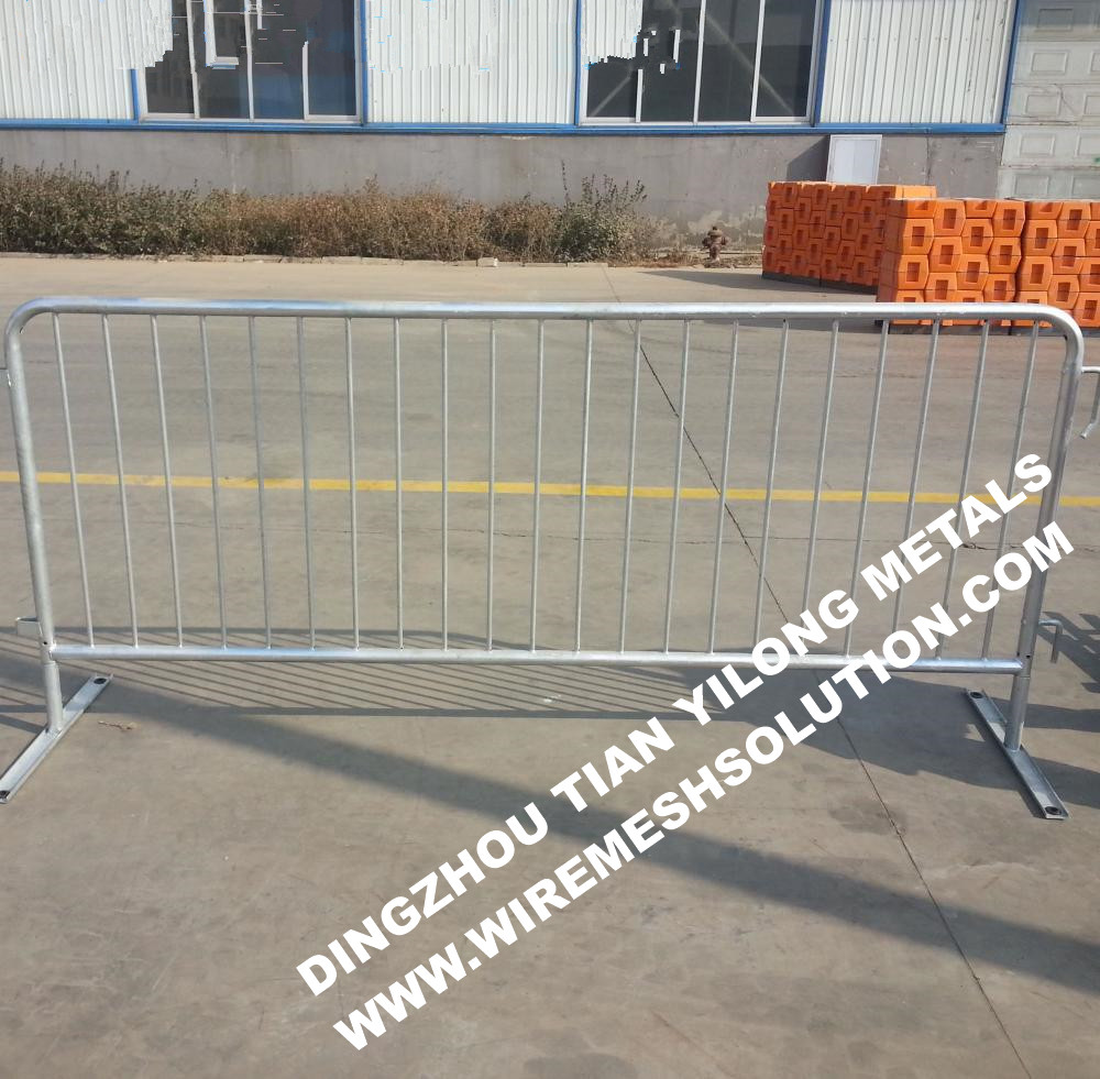 Hot Sale Hot Dipped Galvanized Metal Crowd Control Barrier