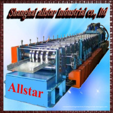 galvanisé d'échelle en acier câble plateau roll formant la machine