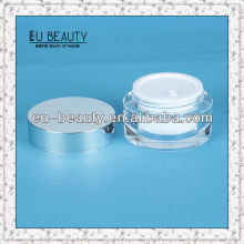 50g Acrylic jars with Aluminum lid