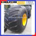 La fábrica de neumáticos chinos neumáticos 66x43-25 llanta + rueda con buen precio