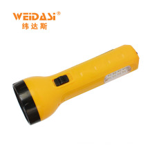wholesale portable solar power rechargeable led flashlight with strong battery