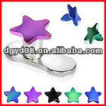 Perfuração dermal da jóia do corpo da pele do aço inoxidável da forma 2013 (WS3660)