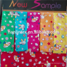 100% Cotton Fabric/lovely print fabric cotton flannel fabric for babywear