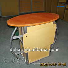 good quality modern reception counter salon reception front table