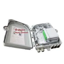 1 * 16 PLC FTTX Caja de terminación del divisor de fibra