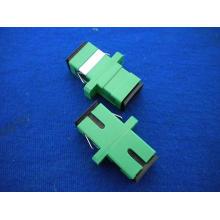 Adaptador SC / APC Simplex de fibra