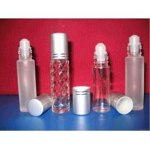 Rollo de vidrio vacío en botella con tapa Botella de perfume
