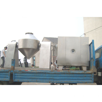 Steam Heated Double Cone Drying Machine with Overseas Commissioning