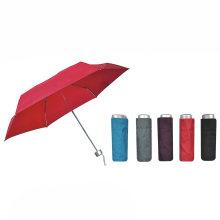 Compact 4 Fold Manual Mini Umbrella for Lady